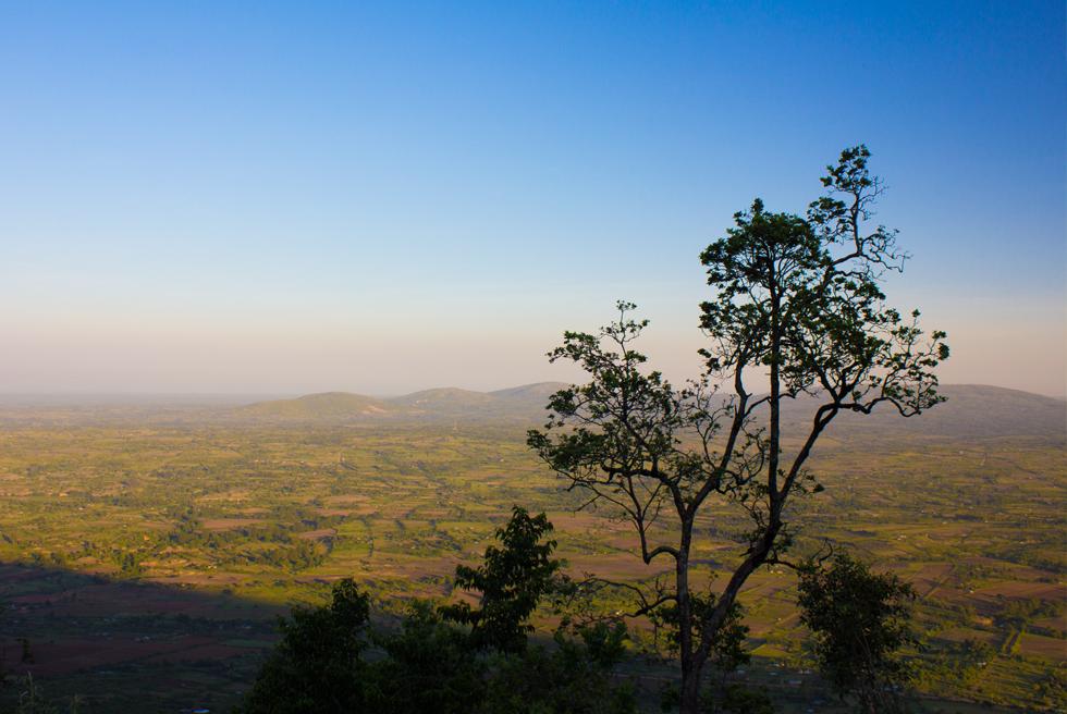 East Africa landscape