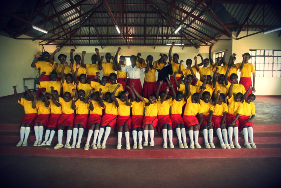 Kisaruni students