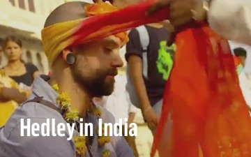 hedley-in-india