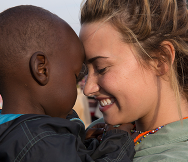 Demi Lovato in kenya