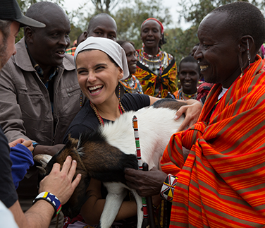 Nelly Furtado in Kenya