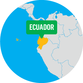 where we work ecuador we