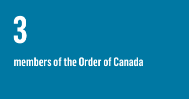 3 members of the Order of Canada