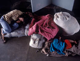 Homeless in a bureaucratic system