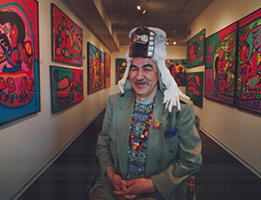 Norval Morrisseau: Storytelling through Painting Thumbnail