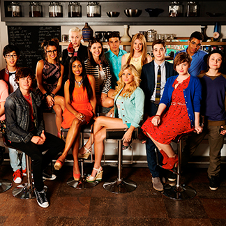 The cast of Degrassi