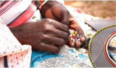 A Mamma beads a Rafiki