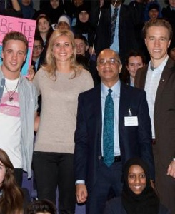 Lord Rumi Verjee, Chair, UK Board of Directors and Board Director Holly Branson
