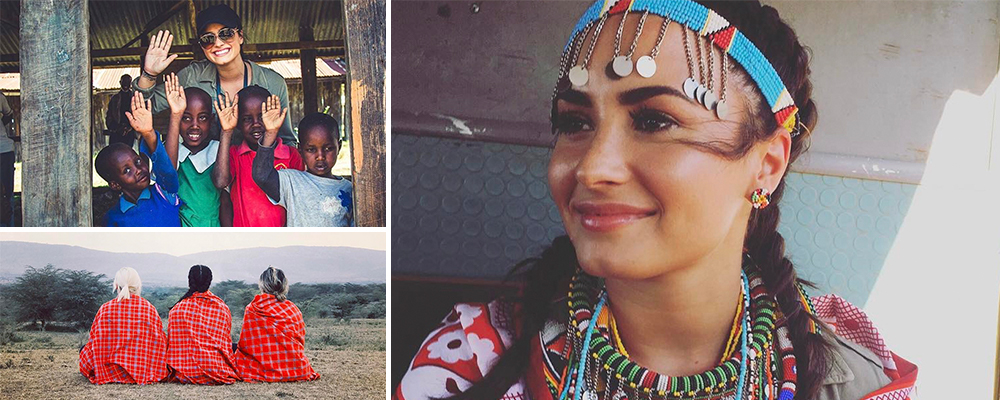 Demi in Kenya