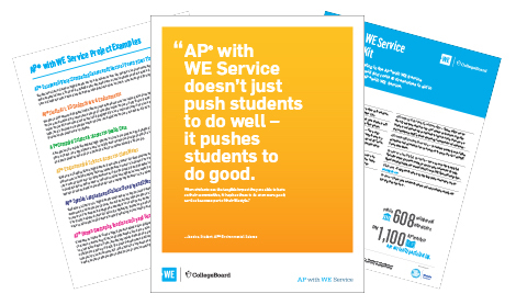 AP® with WE Service Resource Kit