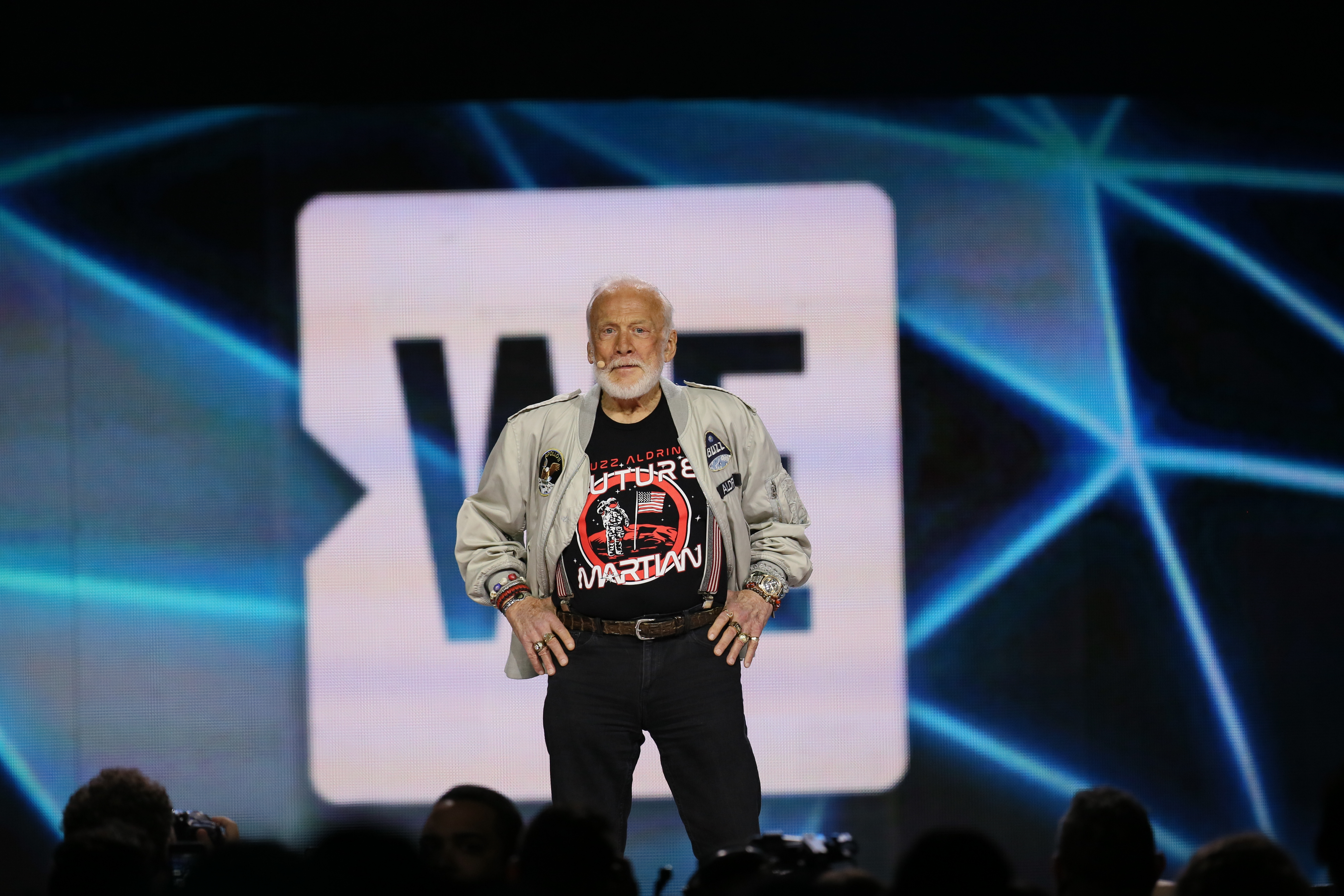 Buzz Aldrin at We Day Seattle 2017