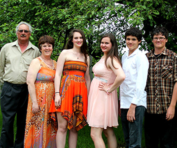 The Quackenbush Family