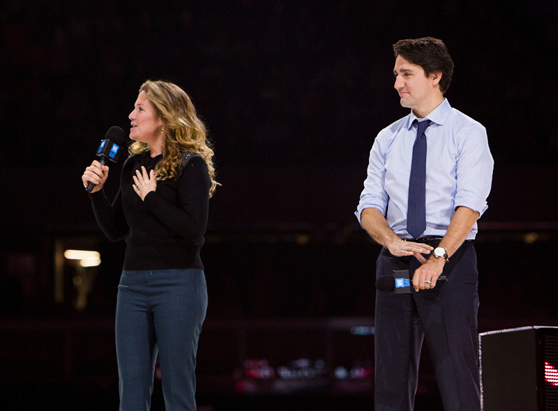 Trudeau inspires young leaders - Feature Video