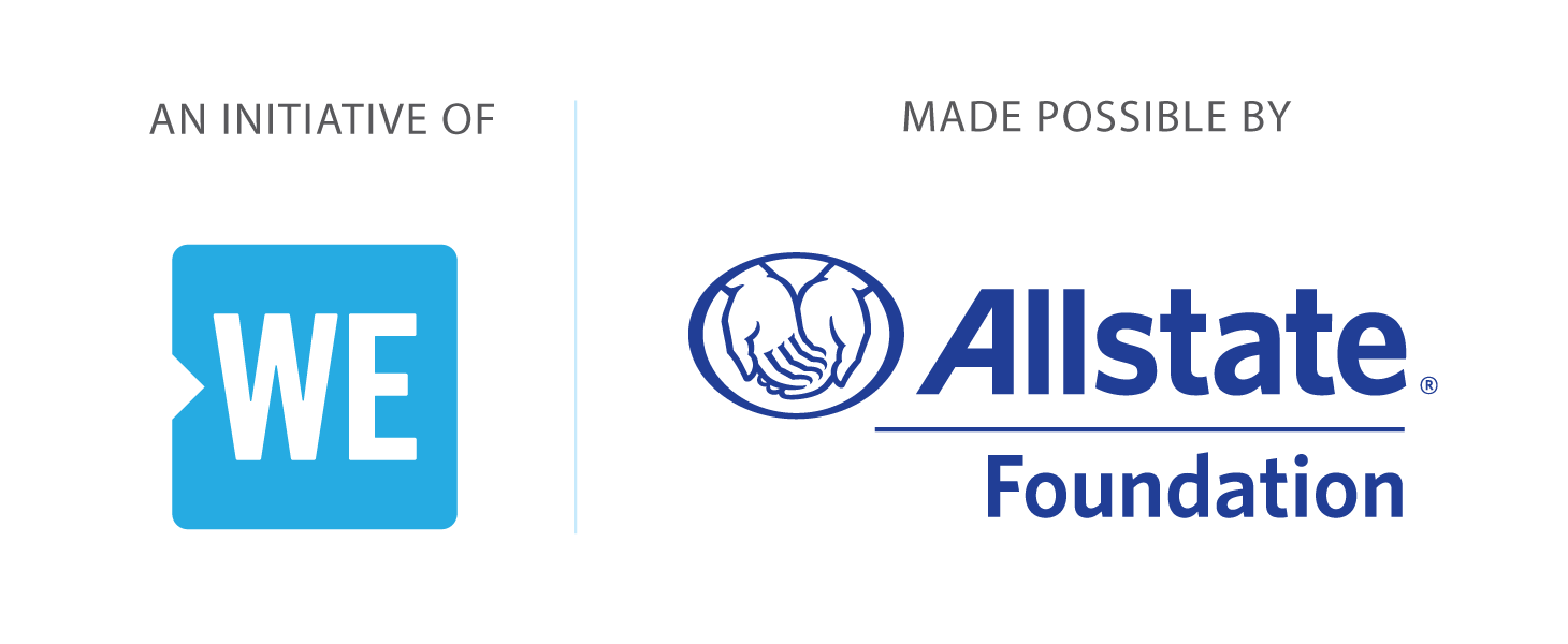 An initiative of WE| Made possible by Allstate Foundation