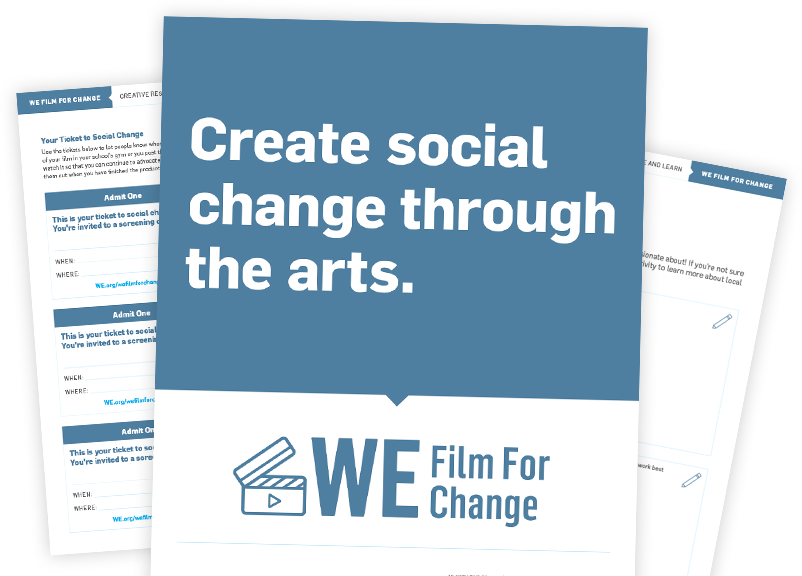 WE Film for Change Campaign Resources