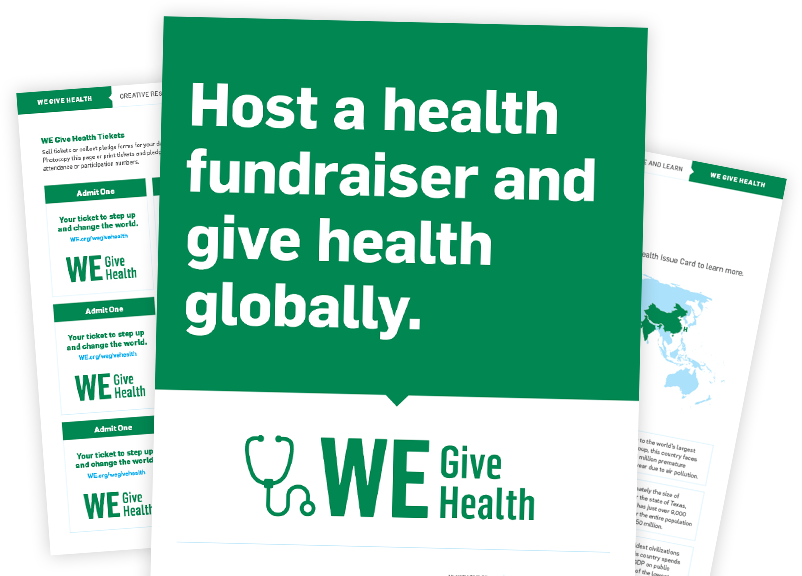 WE Give Health Campaign Resources