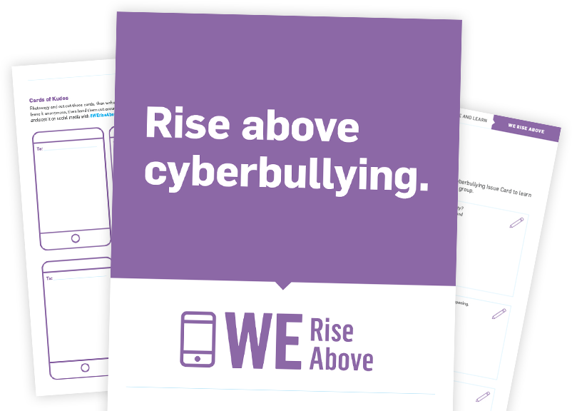We Rise Above Campaign Resources
