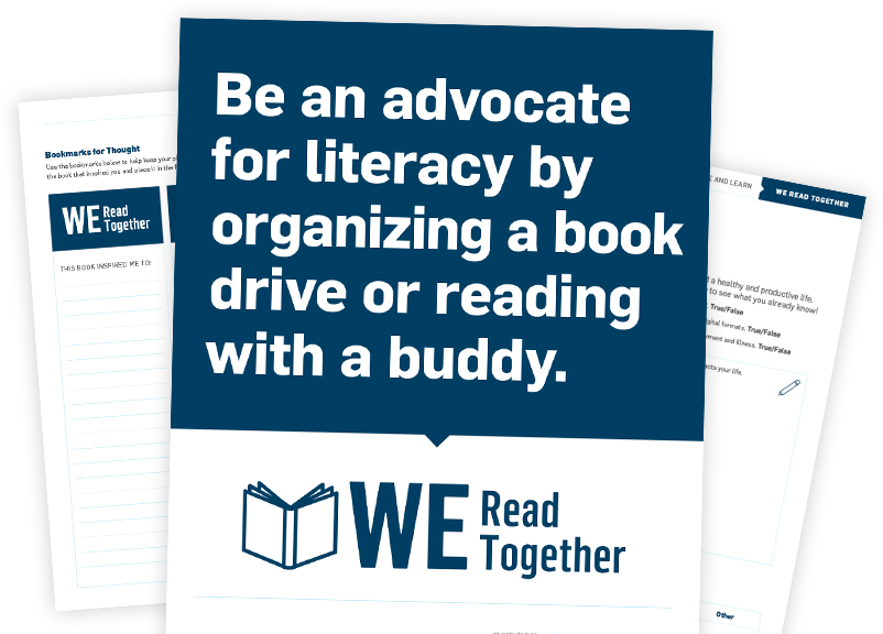 WE Read Together Campaign Resources