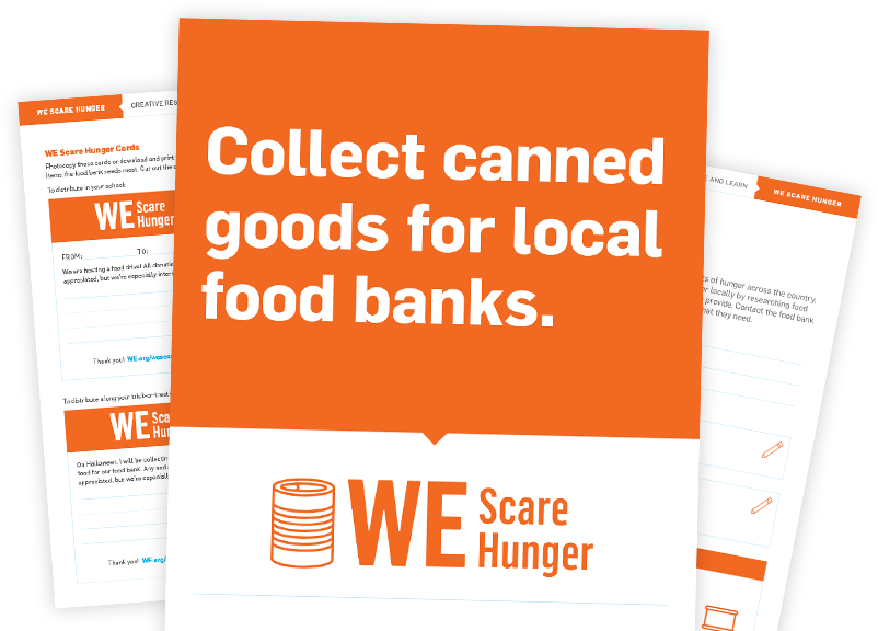 WE Scare Hunger Resources