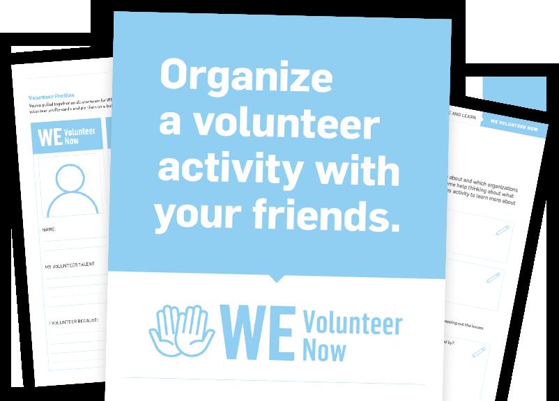 WE Volunteer now Resouces
