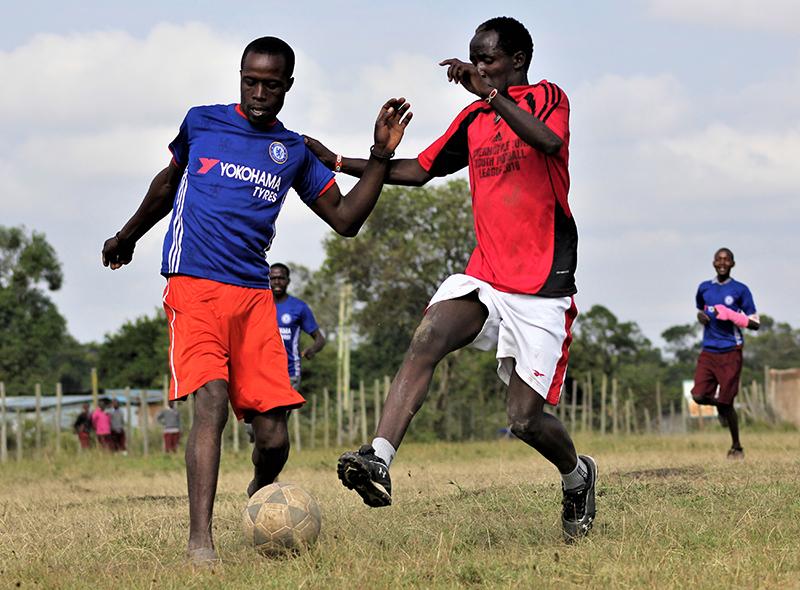Soccer for peace - Feature Image