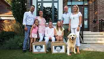 <center>Meet a WE Family: The Giamos/Ross Families</center>
