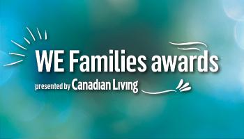 <center>WE Families awards</center>