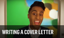 Play writing a cover letter video