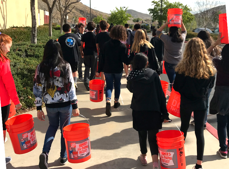 California students walk for water - Feature Image