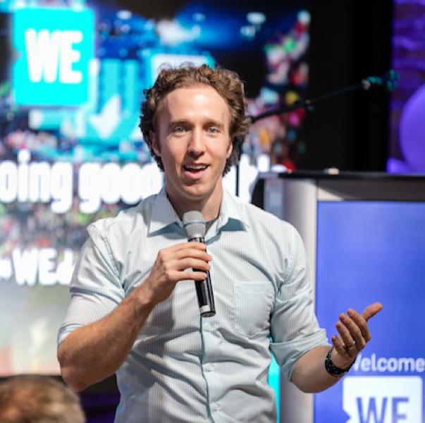 WE Co-founder Craig Kielburger