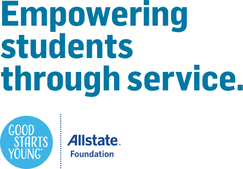 Empowering students through service. | Allstate