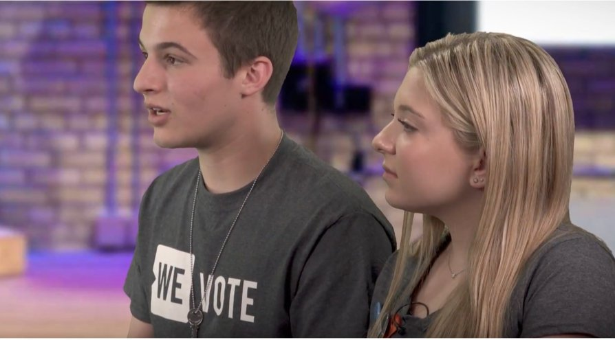 Cameron Kasky and Jaclyn Corin, March For Our Lives co-founders