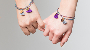 Just the Two of Us Rafiki Bracelet set
