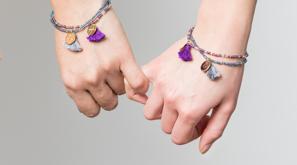 Just the Two of Us Rafiki Bracelet set