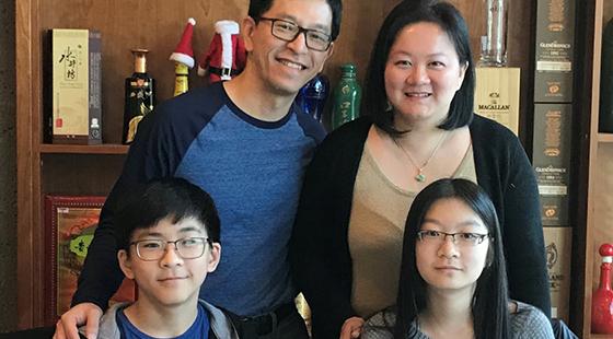 <center>WE Family Profile: The Caos</center>