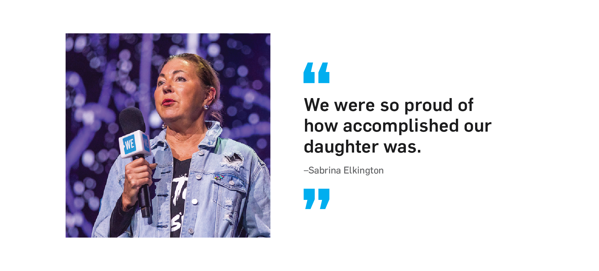 quote We were so proud of how accomplished our daughter was. unquote says Sabrina Elkington