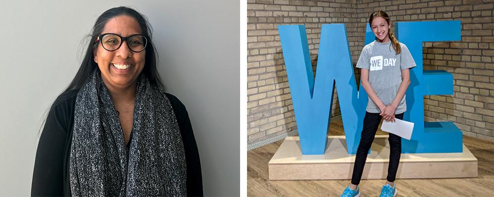 Left: Kamla Rambaran. Right: Veronica Cousens.