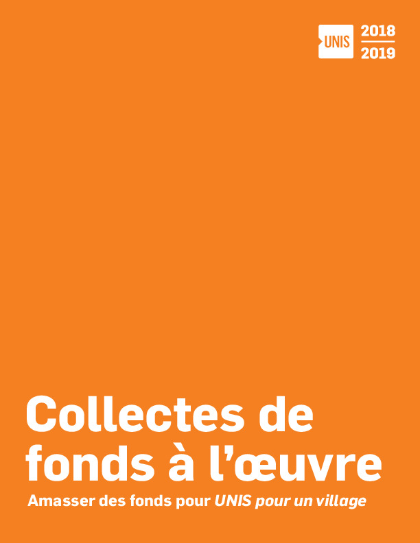 Collectes de fonds à l'œuvre