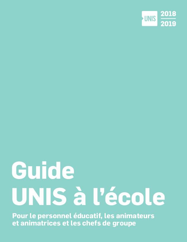 Guide UNIS à l'école