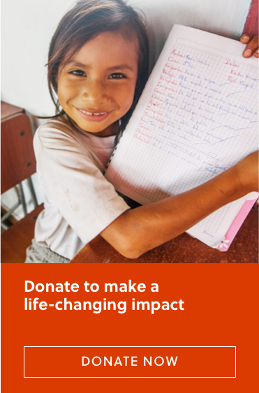 Donate to make a life-changing impact Donate Now