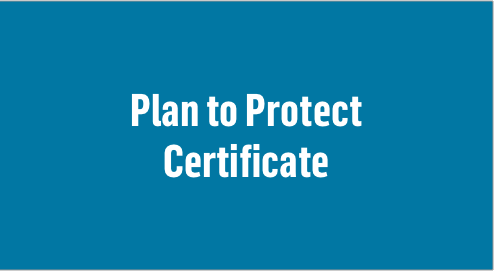 Plan to Protect Certificate