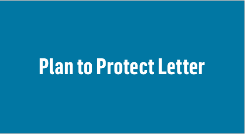 Plan to Protect Letter