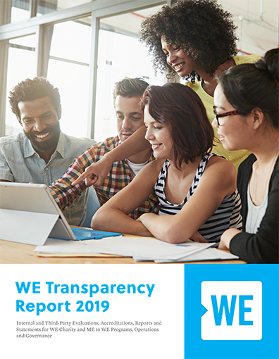 WE Transparency Report 2019