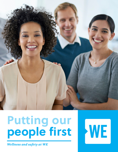 Putting our people first Cover Page