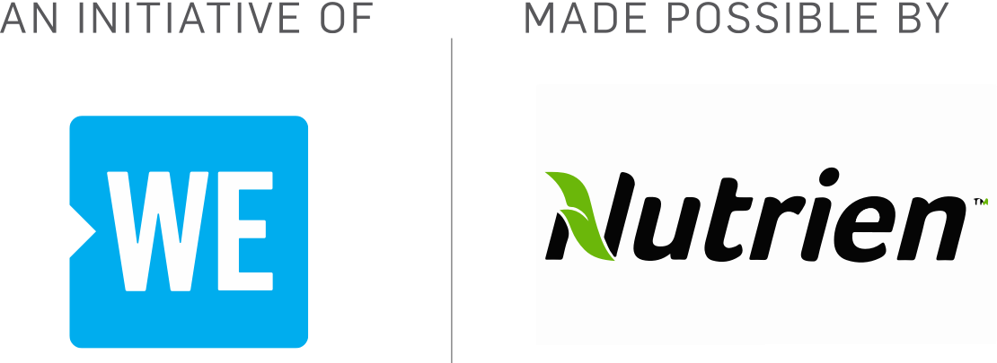 An Initiative of WE | Made possible by Nutrien