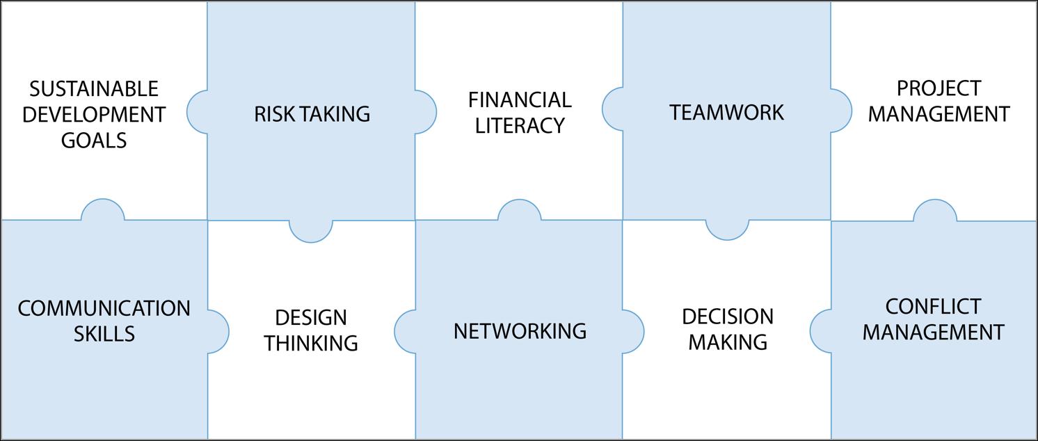 Ten Pillars of Capacity Building - WE School's Social Entrepreneurship Program