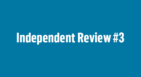 Independent Review #3