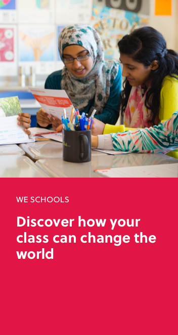 Learn more about WE Schools