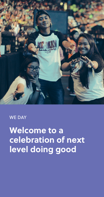 Learn more about WE Day