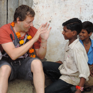 Advisory Board Member Craig Burkinshaw on a ME to WE trip to India.